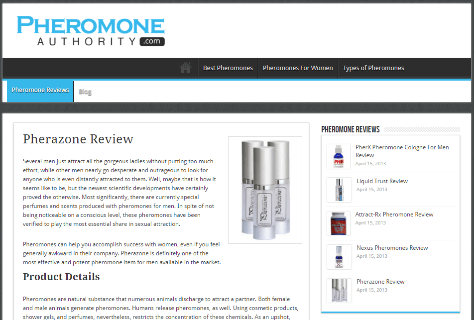 review pheromone colognes scam